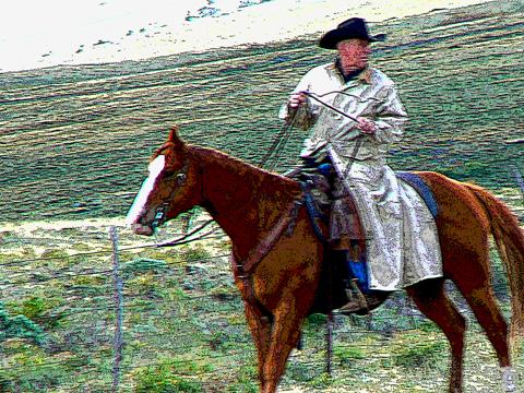 Slicker-rider-posterize