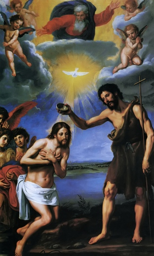 The Baptism of Christ Ottavio Vannini, c. 1640