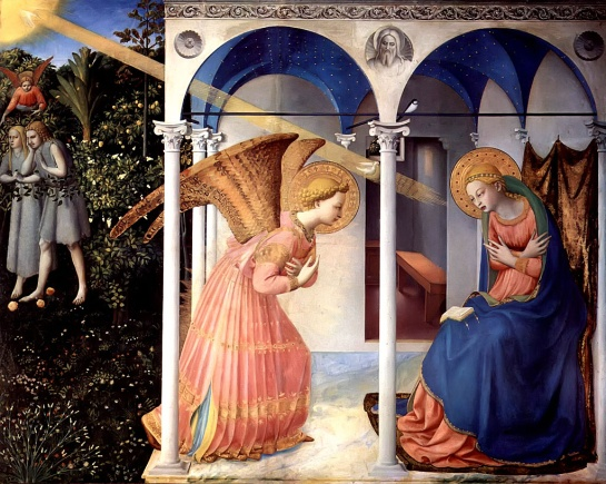 Annunciation Fra Angelico, 1430