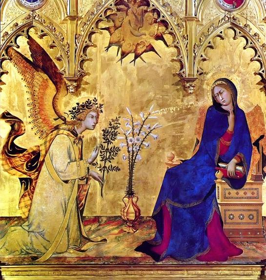 The Annunciation Simone Martini, 1333